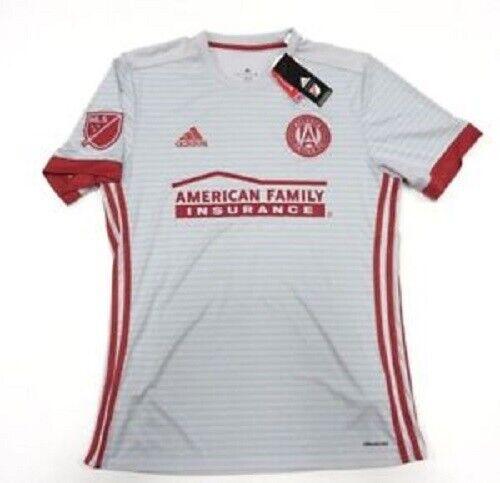 ATLANTA UNITED FC Adidas Away Shirt 2017 Major League Soccer Jersey NEW Large