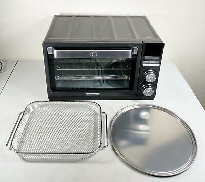 Calphalon TSCLTRDG1 Quartz Heat Countertop Toaster Oven ...