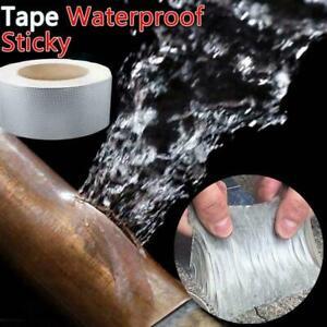30-50mm-Super-Strong-Waterproof-Tape-Butyl-Seal-Rubber-Tape-Foil-Aluminum-New