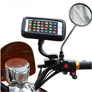 support-telephone-Housse-etanche-support-GPS-moto-Support-smartphone-scooter