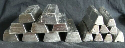 13.5 kg of Lead Ingots 99/% Lead Ideal Ideal for remelting into fishing weights