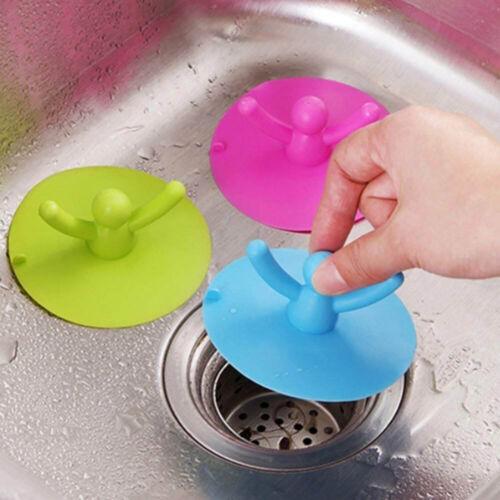 Bathroom Drain Hair Catcher Bath Stopper Plug Sink Anti-odor Shower Covers