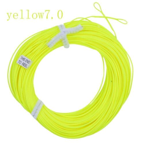 Weight Forward Floating Fly Line WF//5//6//7//8F Trout Fly Fishing All Sizes New!