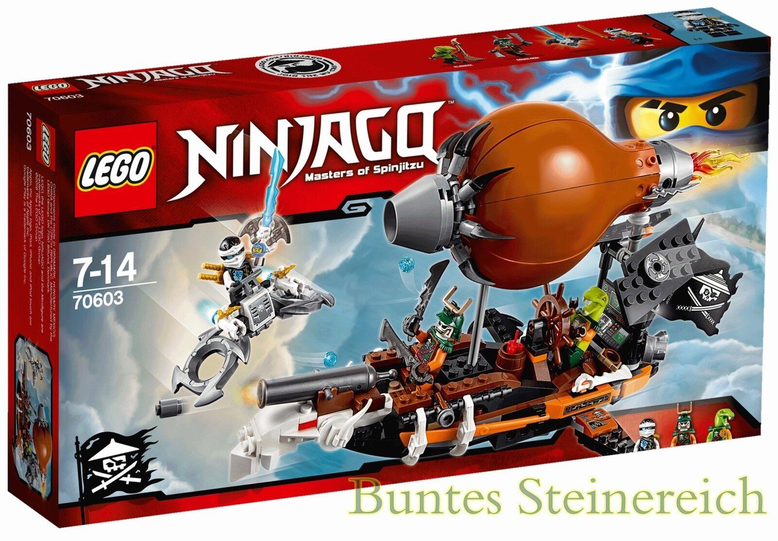 LEGO® NINJAGO: 70603 Kommando-Zeppelin & 0.-€Versand & OVP & NEU