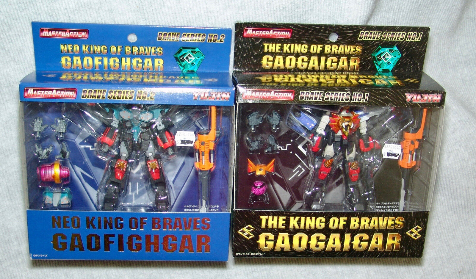 NEW YUJIN NEO KING OF BRAVES GAOGAIGAR SERIES  1 &  2 GAOFIGHGAR, USA SELLER