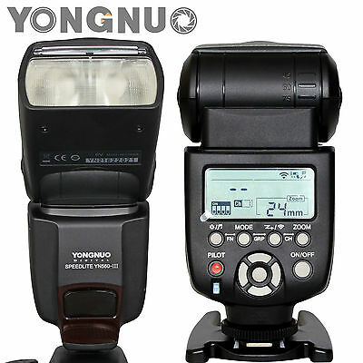 Yongnuo YN-560 III Wireless Flash Speedlite for Nikon D820 D810A D760 D620 D610
