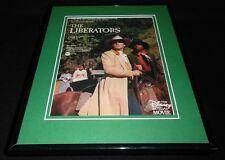 The Liberators 1987 Disney Framed 11x14 ORIGINAL Advertisement Robert Carradine
