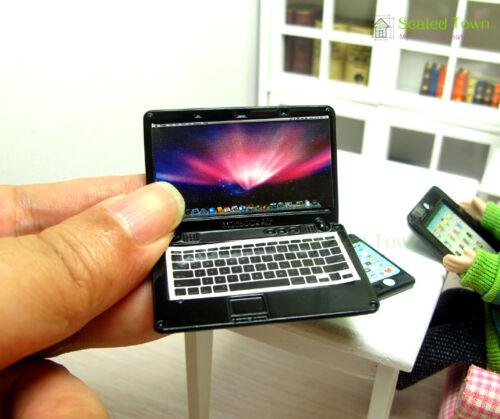 Dollhouse Miniature Mobile Phone Cellphone IPAD Laptop Tablet Computer PC Decor