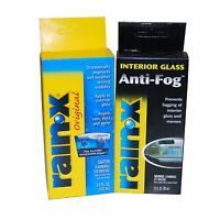 Rain X Windshield Solution Treatment Repels Water & Anti Fog 3.5oz