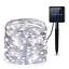 10M//100 LED Solar Fairy String Light Copper Wire Outdoor Waterproof Garden Decor