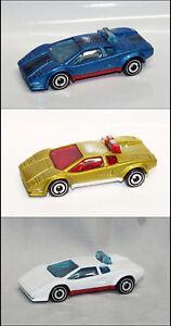 Hot Wheels Lamborghini Countach Pace Car Custom Paint Loose Ebay