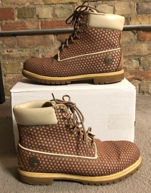 Timberland Men's Tan Honeycomb Wheat Boots - Size 13M