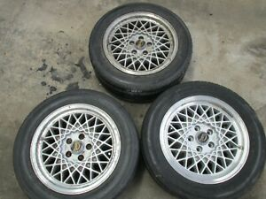 """JJD Twin Tyres 5x4.5"""" Rare! 5x114.3mm 66.56mm bore. Made by Crimson (Japan)"""