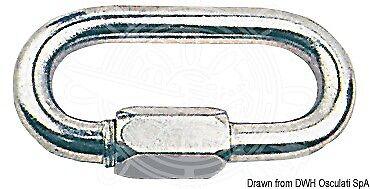 Osculati Karabinerhaken mit mit mit Schraubverschluss AISI 316 10 mm x10 Stk d10e04