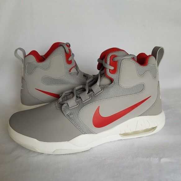 huge selection of 65d6d e7406 Nike Air Conversion Men s Basketball Basketball Basketball Shoes Sneaker  Silver 861678-004 Size 8.5 0a3ef3