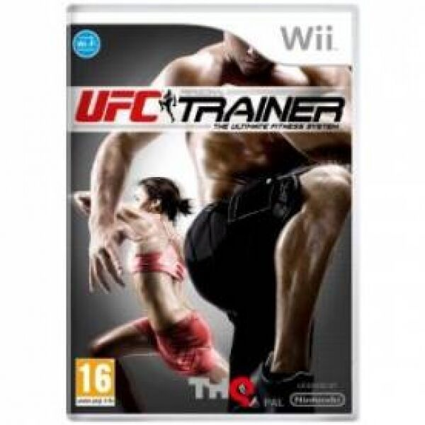 UFC Trainer Includes Leg Strap Game Wii Brand New
