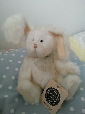 """Boyds Bears Stellina Hopswell In Pensione 8"""" Peluche Coniglio Bunny/nuovo Con Etichette-mostra Il Titolo Originale Vendite Economiche 50%"""