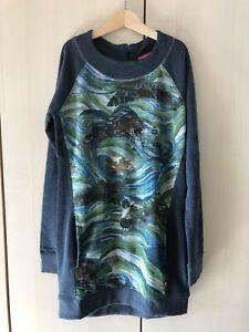 CAKEWALK-11-12-Japanese-Print-Soft-French-Terry-Dress-LN