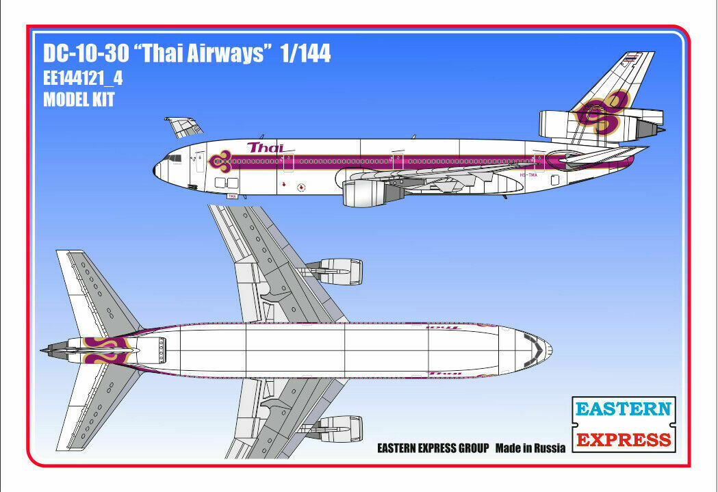 1  144 Eastern Express DC -10 -30 Thai Airways EE144121 u 4