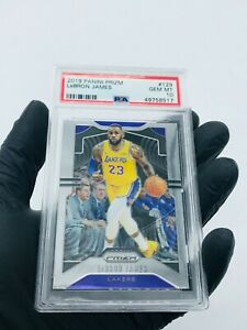 2019-20-LEBRON-JAMES-Panini-Prizm-PSA-10-GEM-MINT-129