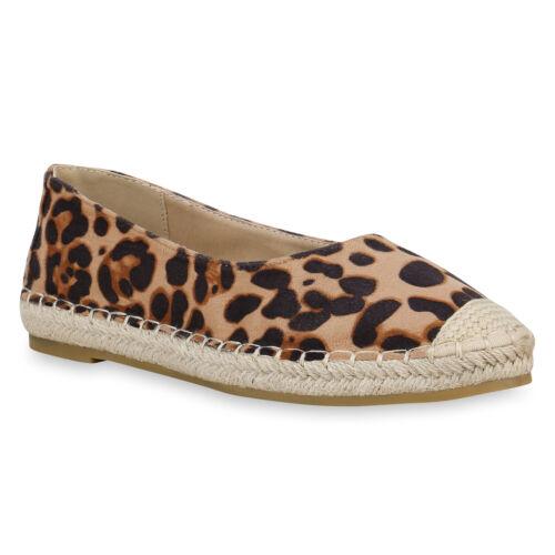 Damen Espadrilles Plateau Slipper Freizeit Schuhe Slip Ons 826391 Trendy Neu