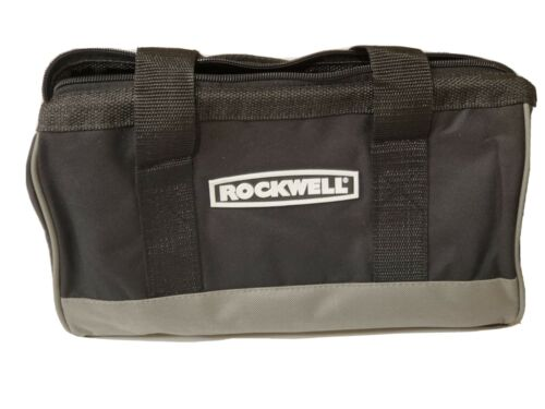 Rockwell Heavy Duty Contractors Soft Side Water Resistant Tool Bag 13x8.5x6 NEW