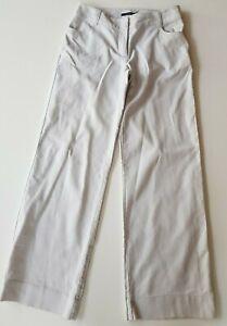 SPORTSCRAFT-Soft-Grey-Stretch-Wide-Legged-Pants-Size-10