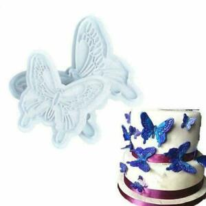 2Pcs-Set-Butterfly-Cake-Fondant-Sugarcraft-Mould-Cookie-New-Plunger-Mold-B6-K1H1