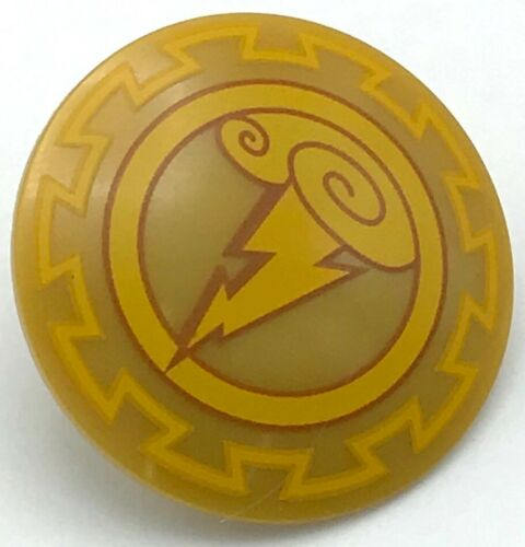 Lego New Pearl Gold Minifigure Shield Round with Rounded Front Piece