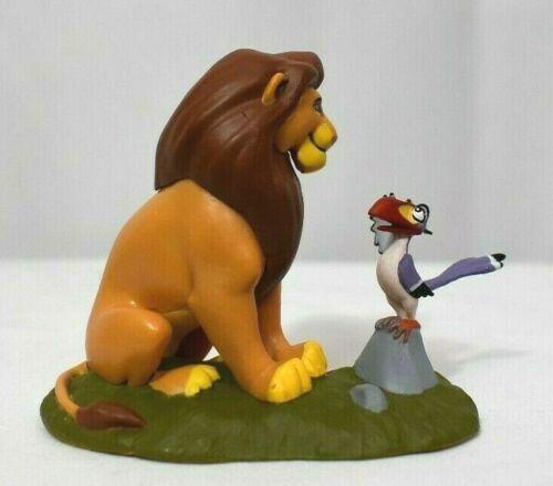 Disney Authentic MUFASA /& ZAZU LION KING FIGURINE Cake TOPPER Toy Father NEW