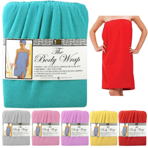 1 Women Soft Spa Bath Body Wrap Towel Bathrobe Shower Quick Drying Robe Dress