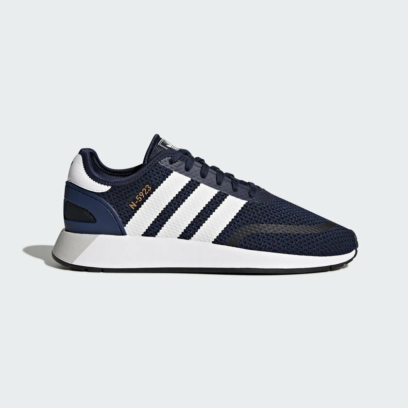 Adidas Men Originals N5923 Runner Navy White Running Shoes DB0961 UK6.5-10.5 03'