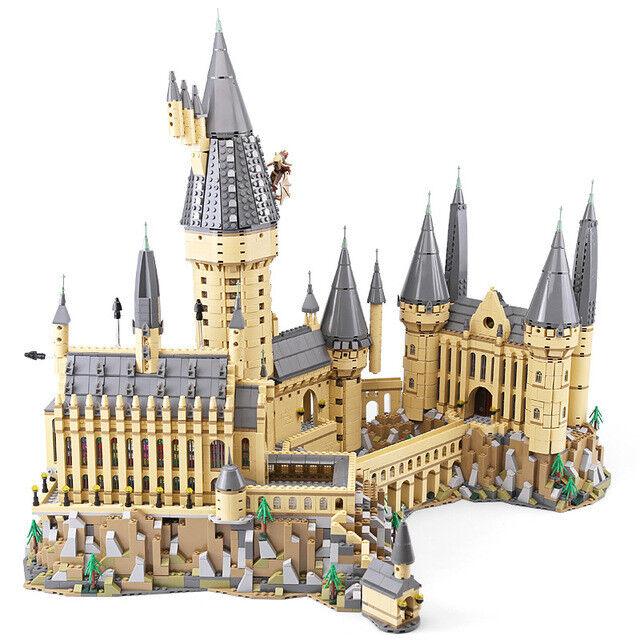 FAST Shipping Custom Harry Potter Hogwarts Castle Lego Compitible 71043 + Manual