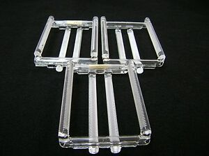"3404 3 Quartz 4"", 50 Slots Wafer Carriers (Quartz Boats)"