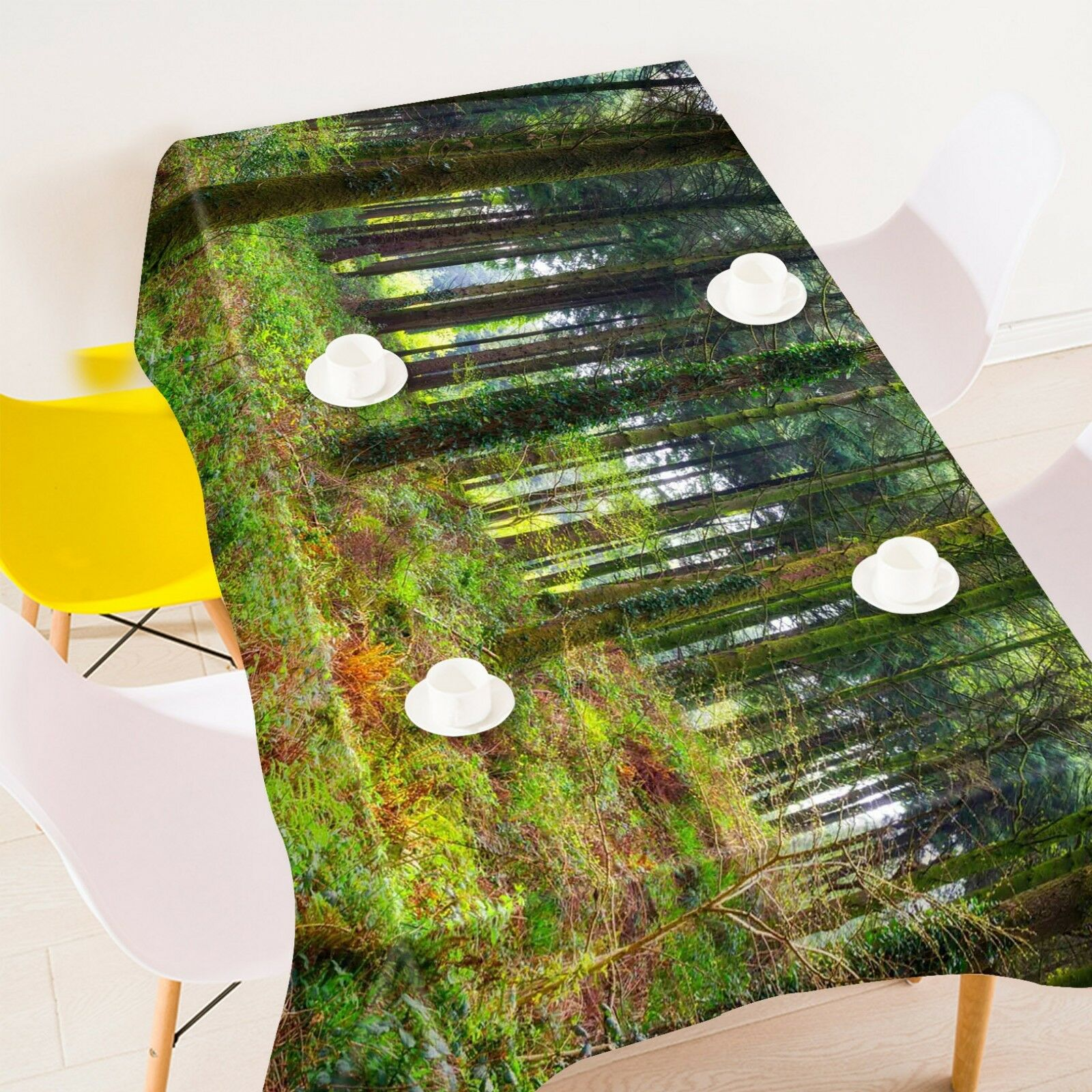 3D vert Grass Tree 0 Tablecloth Table Cover Cloth Birthday Party Event AJ Jenny