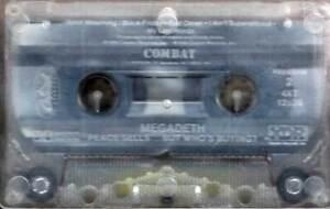 Megadeath - Peace Sells... But Who's Buying / Cassette Tape / Combat 4XT-12526