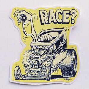 300pcs Random Ed Roth Hot Rods Vinyl Decal Graffiti Big Daddy Rat Fink Stickers