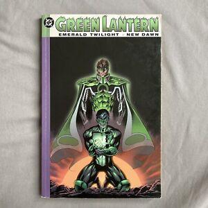 Green Lantern Emerald Twilight New Dawn Trade Paperback TPB Gently Used Rare OOP