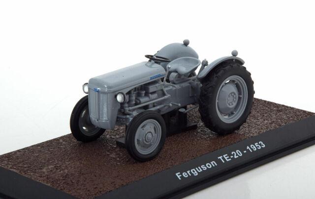 Massey Ferguson TE-20 grau Maßstab 1:32 Baujahr 1953 Atlas OVP und Neu.