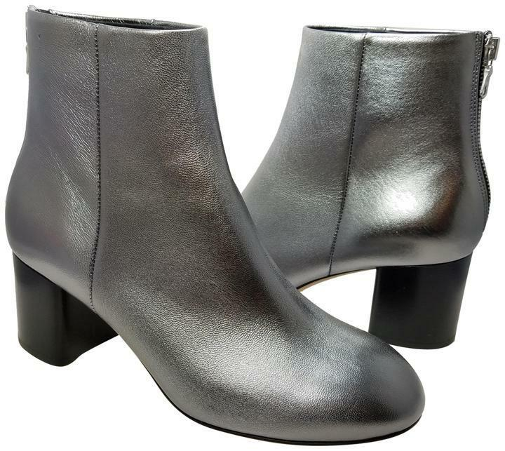Sz 7.5  37.5 NEW RAG & BONE womens Ankle Boots Drea Gunmetal heel Booties