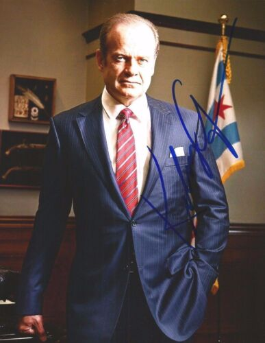 KELSEY GRAMMER Hand Signed 8 x 10 Color Photo Autograph w/ COA Nice Pic & AUTO
