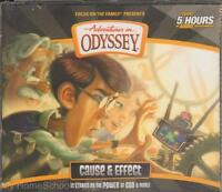 Adventures In Odyssey Cause & Effect 52 4 Cd Audio Set Focus On The Family