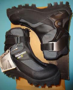 Details zu Salomon Langlaufski Schuhe 37 38 Neu Cross Country Boots 24cm + SNS XA Bindung