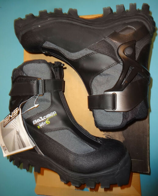 Salomon Langlaufski Schuhe 37 38 Neu Cross Country Boots 24cm + SNS XA Bindung