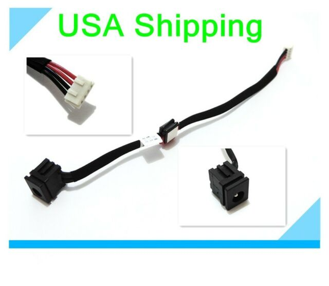 AC DC POWER JACK CABLE HARNESS TOSHIBA SATELLITE C655-S5305 SOCKET CONNECTOR