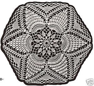 Crochet MOTIF BLOCK Barbary Round Bedspread Pattern