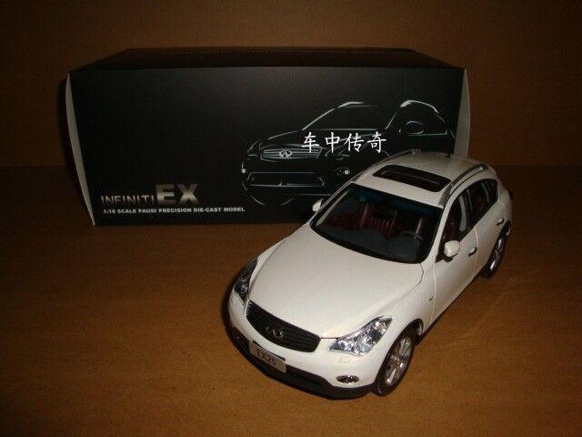 1 18 infiniti EX25 SUV Weiß Farbe