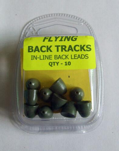 Pack of 10 In line Back Leads Flying Back Tracks
