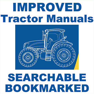 Details about New Holland Tractors TS-A Plus & TS-A Delta & Elite Series  Service Repair Manual