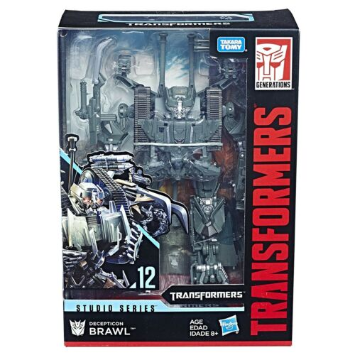HASBRO TRANSFORMERS STUDIO SERIES 12 VOYAGER CLASS BRAWL ACTION FIGURE TINY 01